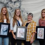 v.l. Susanne Breunig, Kathi Rauscher, Vorsitzende Brigitte Landfried, Sandra Stiegler